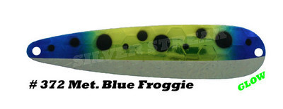 SILVER STREAK Metallic Blue Froggy