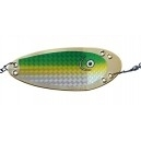 VK SALMON FLASHER GOLD006S 15 cm GOLD GREEN CHART