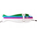 VK SALMON II FLASHER 180  24 cm CLEAR COHO BLUE