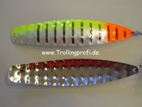 HYBRIDEN   Fluo Yellow - Pearl - Fluo Orange Stripe