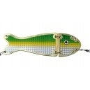 VK SALMON II FLASHER 550 24 cm GOLD GREEN CHART