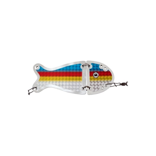 VK SALMON II FLASHER 656S  16 cm CROME RAINBOW