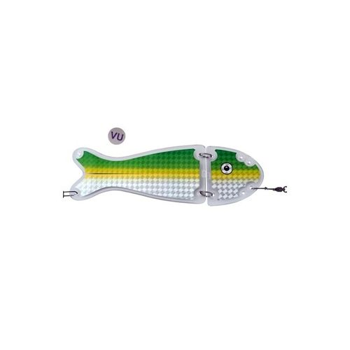VK SALMON II FLASHER 24 cm CHROME UV 170