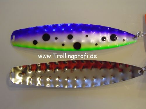 HYBRIDEN    Metallic Purple - Fluo Green black dots